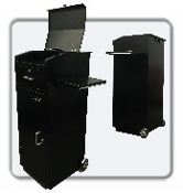 Valet Parking Podium, Valet Podium, Valet Key Storage, Smart Valet Podium Counter TOP Cover and Shelf