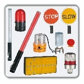 LED Traffic Batons & Warning Lights