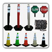 Traffic cones Delineators
